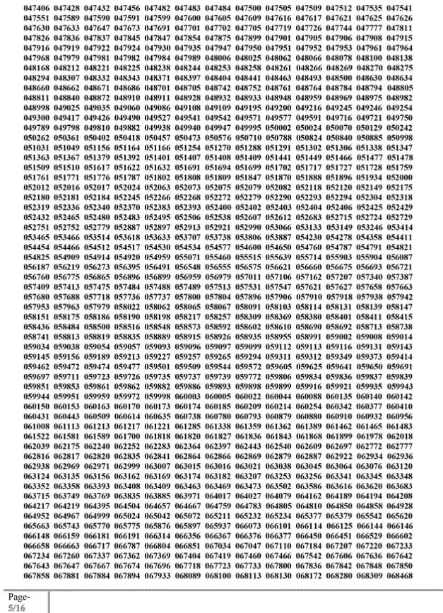 34 bcs written result